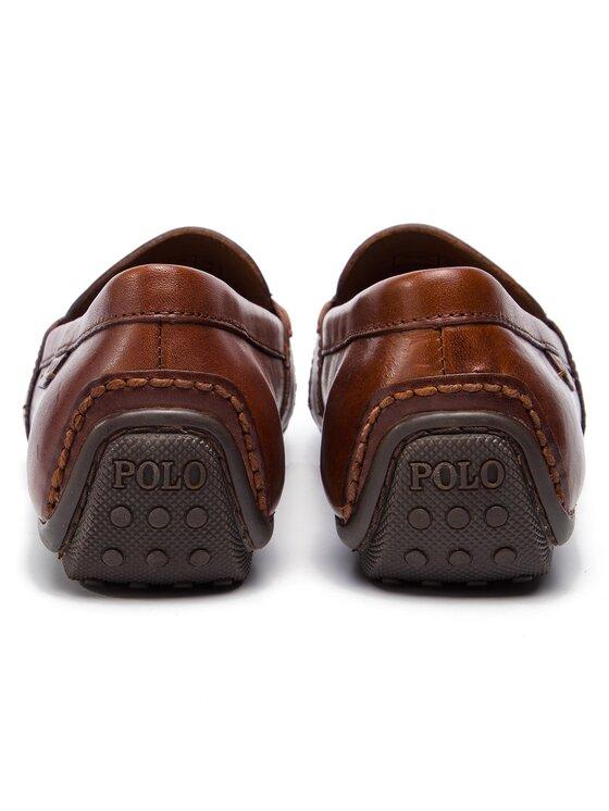 Polo Ralph Lauren Polo Ralph Lauren Mokasíny Reynold 803707787002 Hnedá