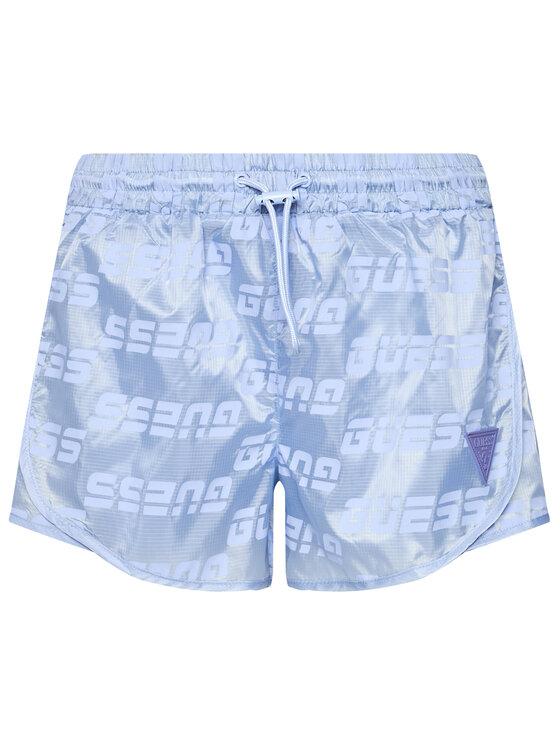 Guess Guess Szorty sportowe O1GA28 WDEZ0 Niebieski Regular Fit