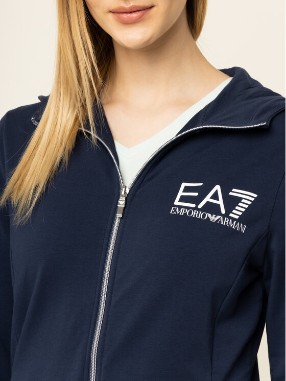 EA7 Emporio Armani EA7 Emporio Armani Sweatshirt 3HTM23 TJ31Z 1554 Bleu marine Slim Fit
