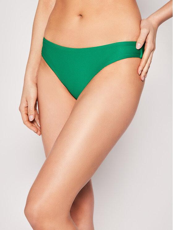 Seafolly Bikinio apačia Essentials 40473-640 Žalia