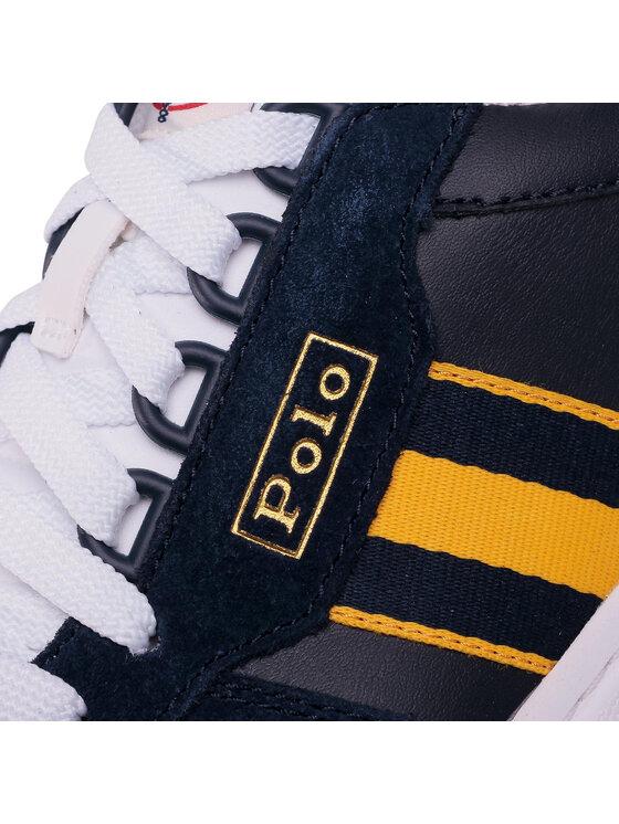 Polo Ralph Lauren Polo Ralph Lauren Sneakersy Court 809784402001 Granatowy
