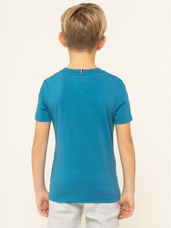 Tommy Hilfiger Tommy Hilfiger T-Shirt KB0KB05013 D Μπλε Regular Fit
