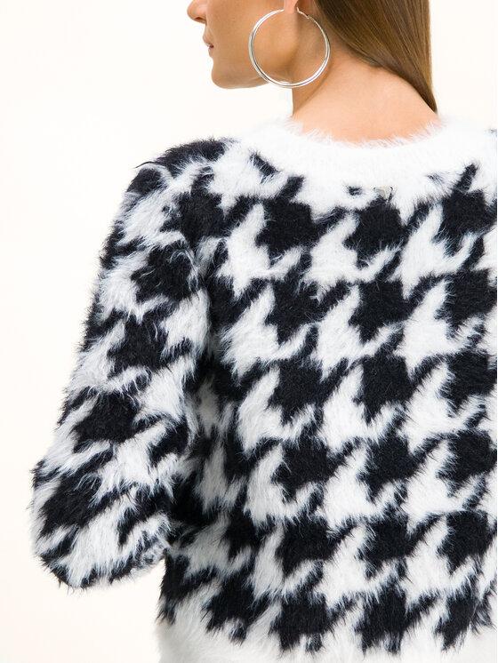 Guess Guess Megztinis W94R0B Z2IP0 Balta Regular Fit