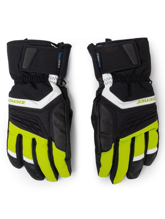 Ziener Slidinėjimo pirštinės Galvin As (R) Glove Ski Alpine 191000 Juoda