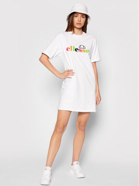 Ellesse Ellesse Haljina za svaki dan Inka SGF10515 Bijela Loose Fit