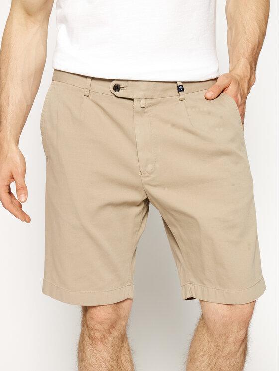 JOOP! Joop! Bavlnené šortky 30015611 Béžová Regular Fit