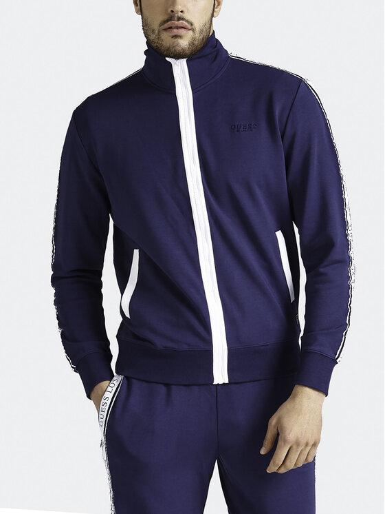 Guess Guess Sweatshirt M93Q35 K8S60 Bleu marine Regular Fit