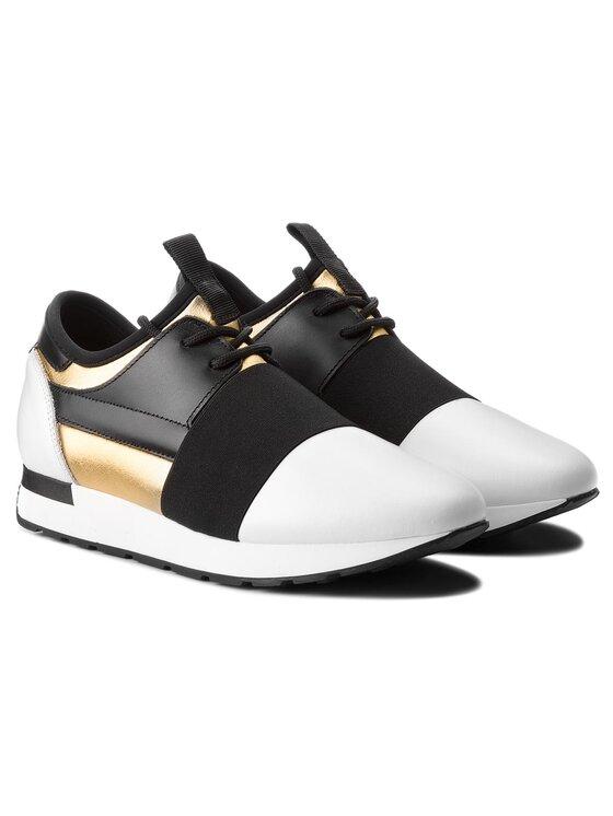 Pollini Pollini Sneakersy SA15023G05TZ590A Bílá