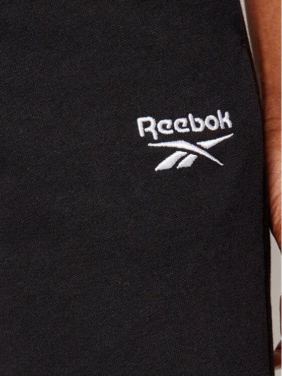 Reebok Reebok Spodnie dresowe Classics French Terry GJ3004 Czarny Regular Fit