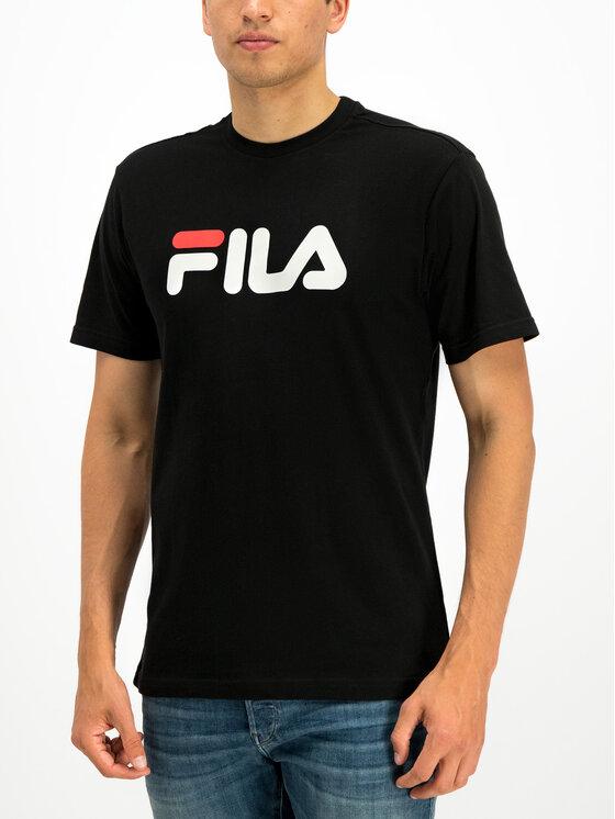 Fila Fila T-Shirt Unisex 681093 Czarny Regular Fit