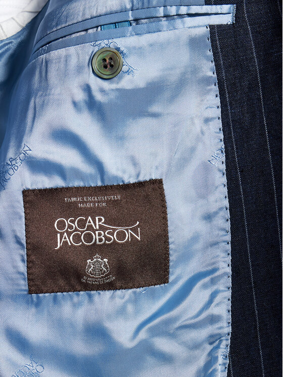 Oscar Jacobson Oscar Jacobson Marynarka Faron 3361 5685 Granatowy Regular Fit