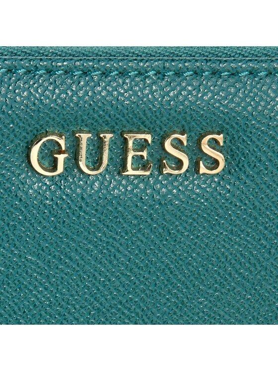 Guess Guess Duży Portfel Damski SWISAB P6446 Zielony