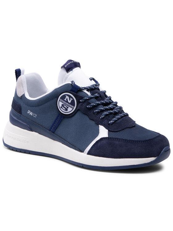 North Sails Laisvalaikio batai RW/01 Base -005 Tamsiai mėlyna