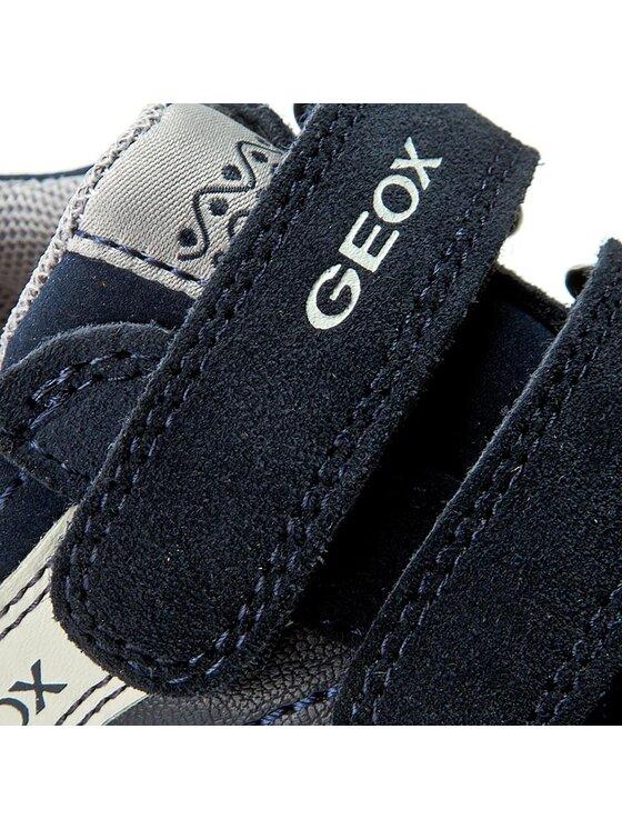 Geox Geox Scarpe basse J Elvis F J64A4F 05422 C4002 Blu scuro