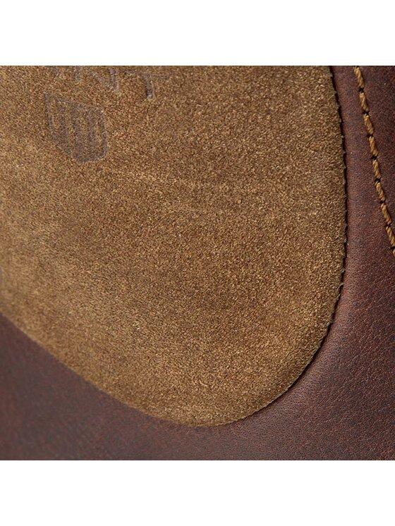 Gant Gant Kozačky Huck 11641882 Hnědá