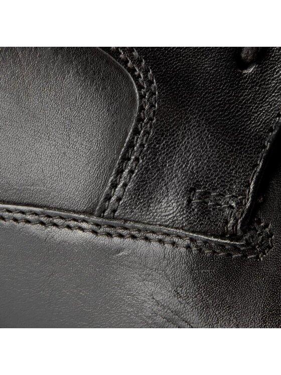 Clarks Clarks Chaussures basses Beckfield Walk 261192637 Noir