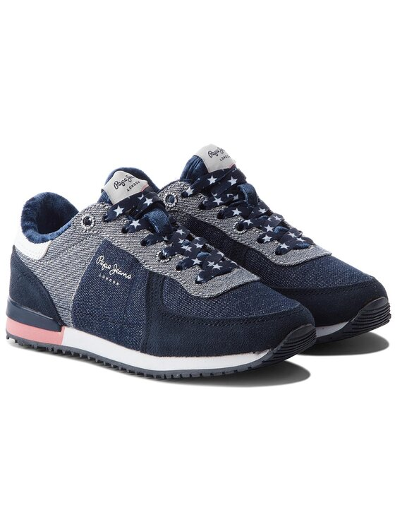Pepe Jeans Pepe Jeans Sneakers Sydney Denim PGS30364 Bleumarin