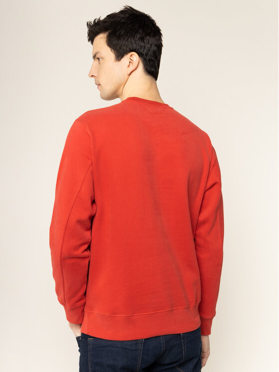 Pepe Jeans Pepe Jeans Felpa Albert PM581721 Rosso Regular Fit