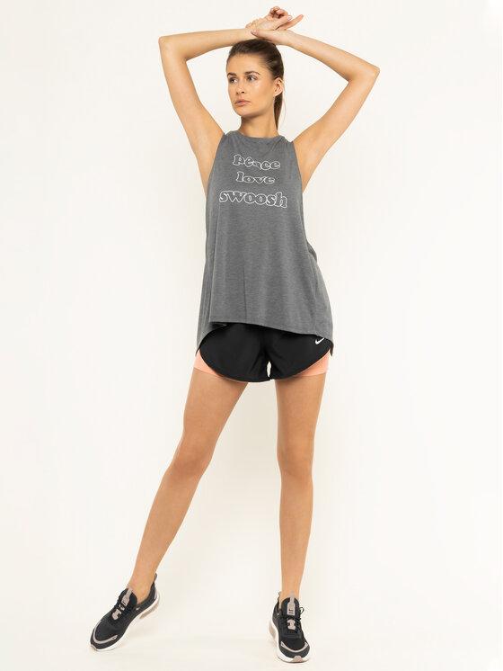 Nike Nike Funkční tričko Yoga BV4371 Šedá Standard Fit