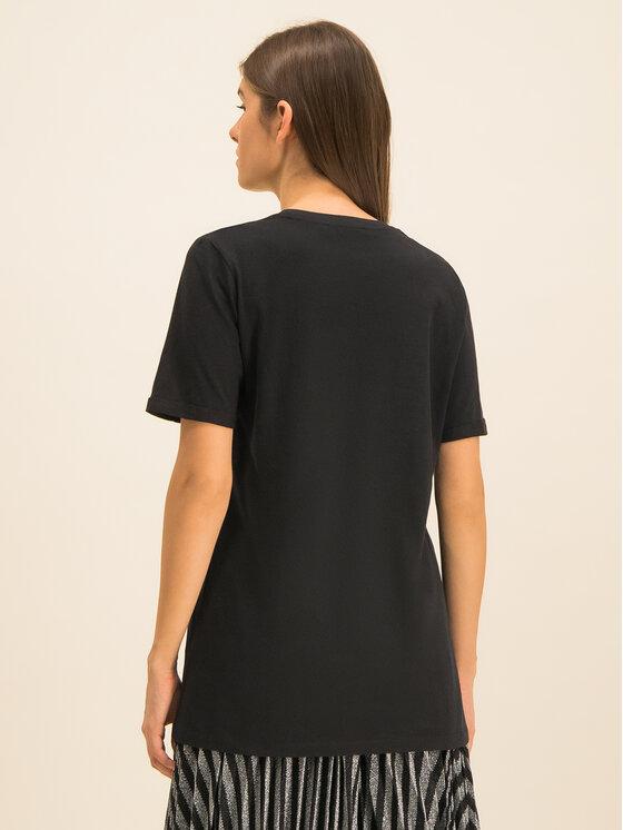 Silvian Heach Silvian Heach T-shirt Stitten PGA19022TS Noir Regular Fit