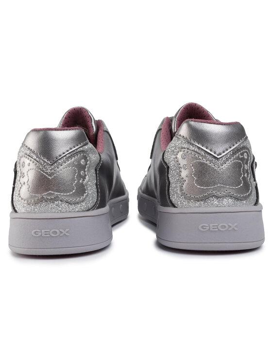 Geox Geox Sneakersy J Skylin G. C J948WC 0NFKN C1009 DD Srebrny