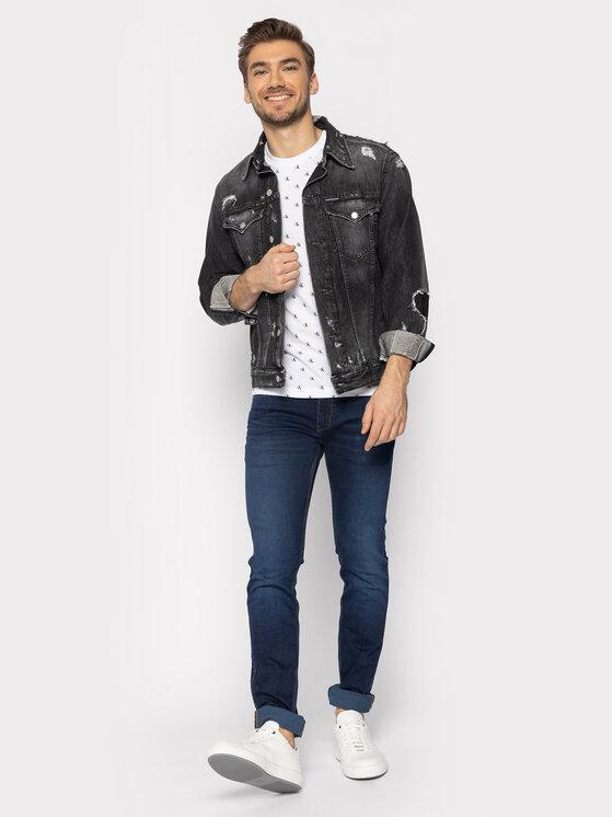 Calvin Klein Jeans Calvin Klein Jeans T-shirt J30J315289 Blanc Slim Fit