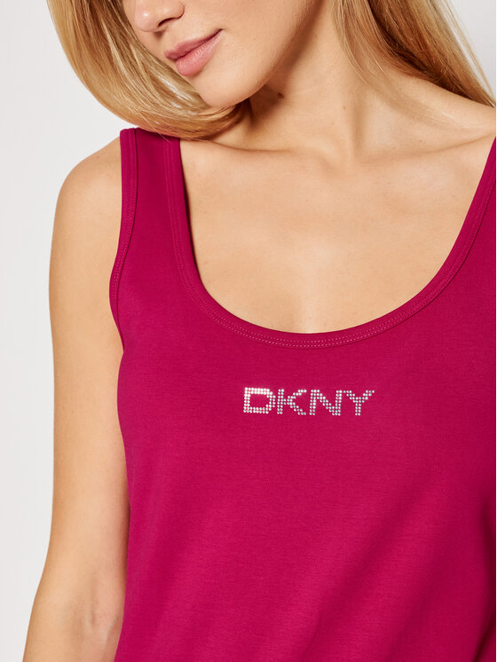 DKNY Sport DKNY Sport Haljina za svaki dan DP1D4465 Ružičasta Slim Fit