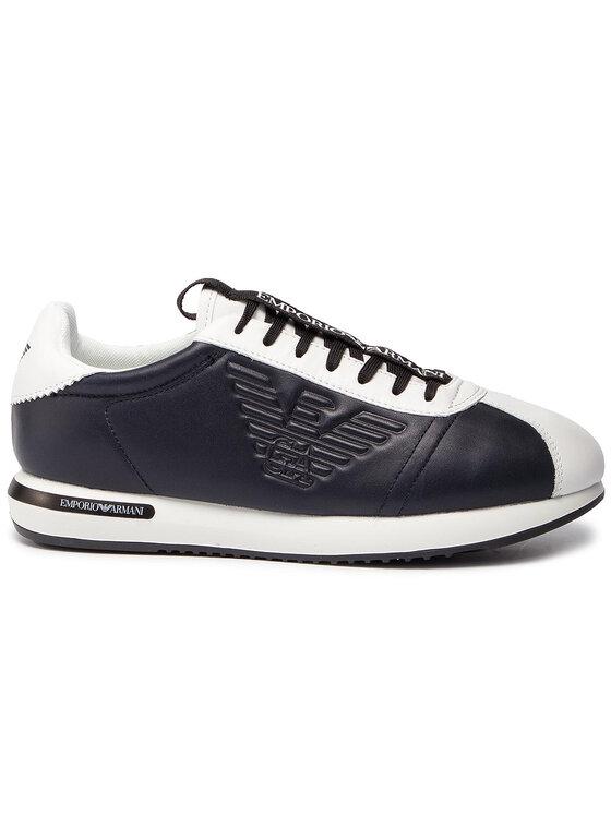 Emporio Armani Emporio Armani Sneakersy X4X260 XL709 A042 Granatowy