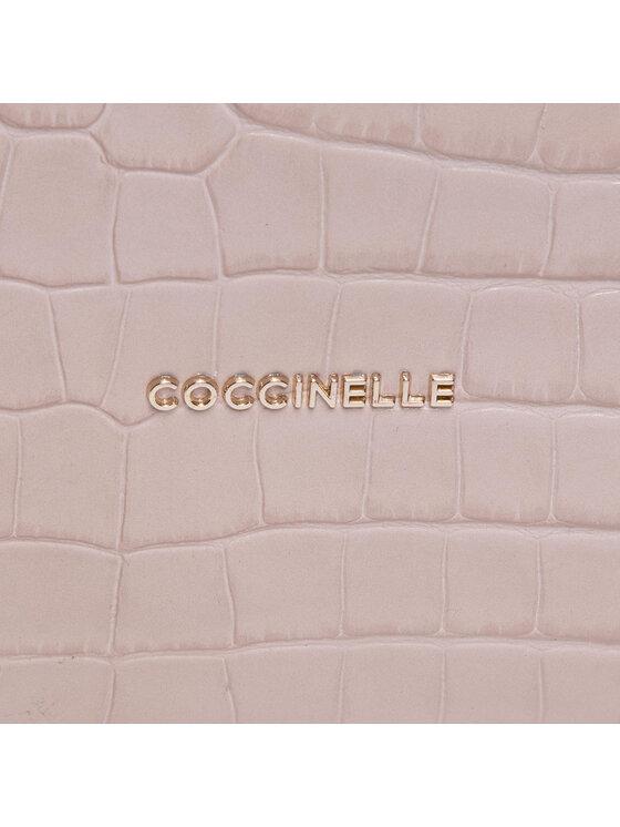 Coccinelle Coccinelle Torebka HFH Fedra Croco Shiny Soft E1 HFH 13 02 01 Beżowy