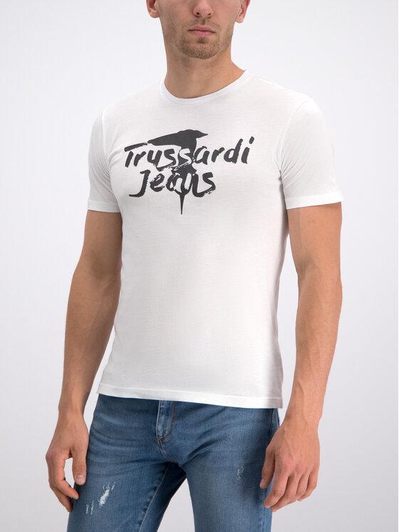 Trussardi Trussardi Тишърт 52T00240 Бял Regular Fit