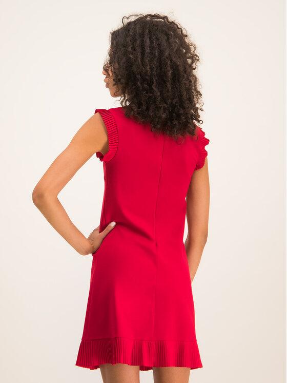 TWINSET TWINSET Φόρεμα κοκτέιλ 192TT2061 Κόκκινο Regular Fit