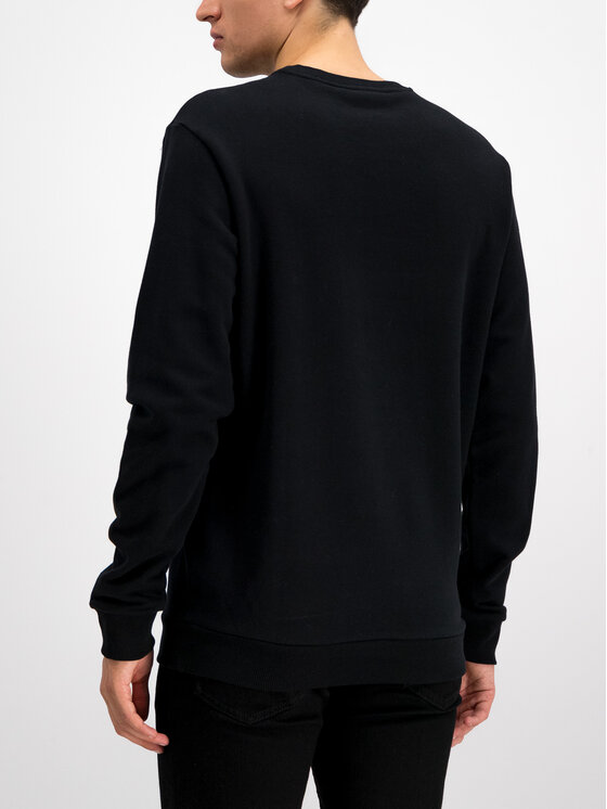 Trussardi Jeans Trussardi Jeans Sweatshirt 52F00076 Schwarz Regular Fit