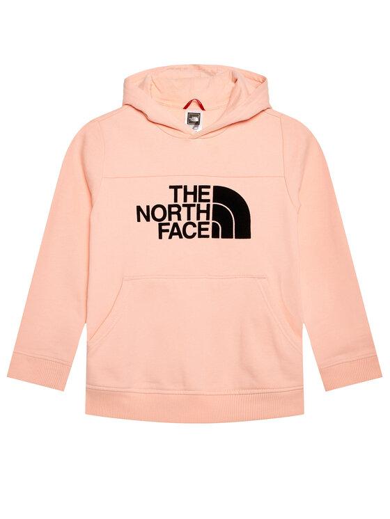The North Face Džemperis Drew Peak Hoody NF0A492SK471 Rožinė Regular Fit