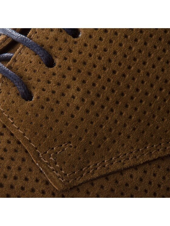 Pepe Jeans Pepe Jeans Chaussures basses Barley Perforation PMS10218 Marron