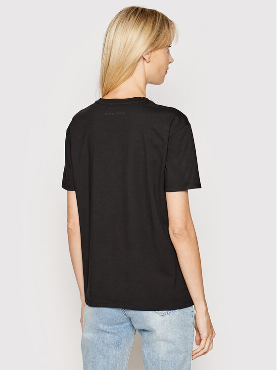 Emporio Armani Emporio Armani T-Shirt 6G2T6E 2JQAZ 0999 Czarny Regular Fit