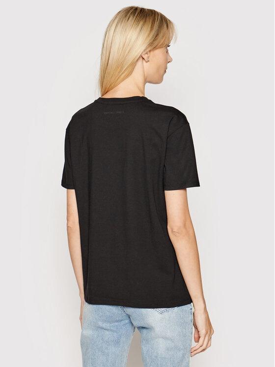 Emporio Armani Emporio Armani T-Shirt 6G2T6E 2JQAZ 0999 Schwarz Regular Fit