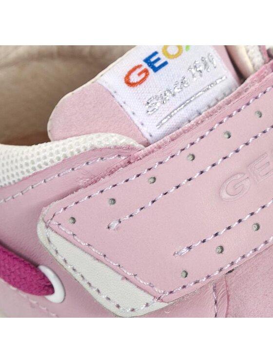 Geox Geox Półbuty B4234D 0DPTD C8010 Różowy