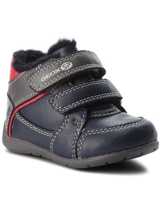 Geox Auliniai batai B Elthan B. A B841PA 000ME CF49A Tamsiai mėlyna