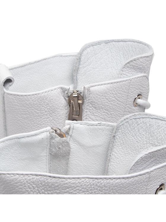 Carinii Carinii Botki B7097 Biały