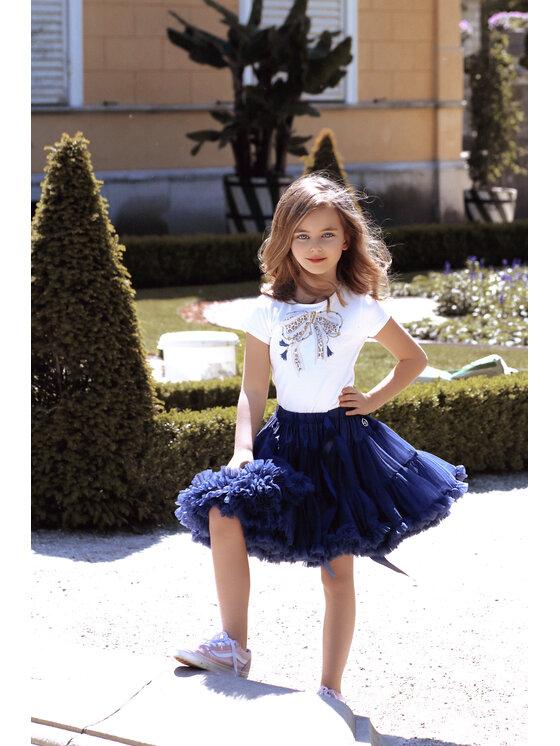 LaVashka Sijonas 25-B Tamsiai mėlyna Regular Fit