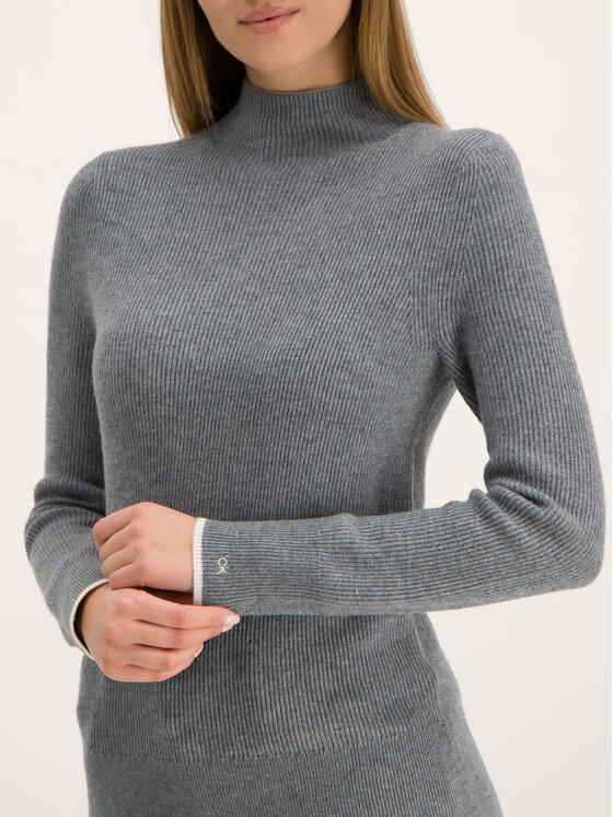Calvin Klein Calvin Klein Rollkragenpullover Rib Funel K20K201328 Grau Regular Fit