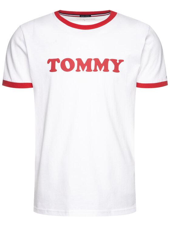 Tommy Hilfiger Tommy Hilfiger T-shirt Logo UM0UM01620 Blanc Slim Fit
