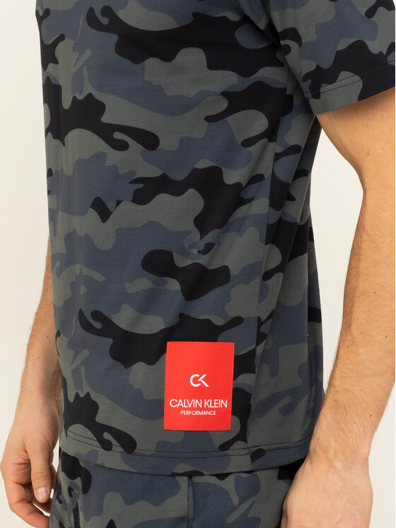 Calvin Klein Performance Calvin Klein Performance T-Shirt 00GMH9K289 Szary Regular Fit