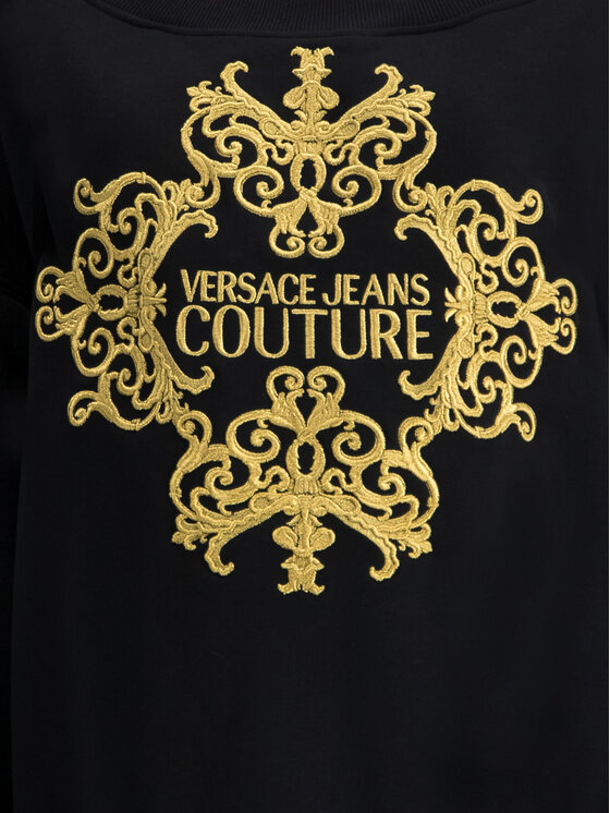 Versace Jeans Couture Versace Jeans Couture Felpa B6HUA792 Nero Oversize