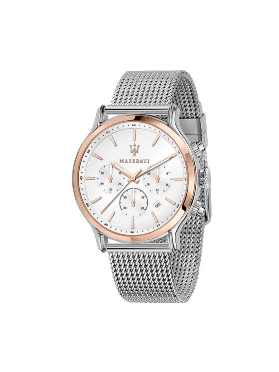 Maserati Laikrodis Epoca R8873618009 Sidabrinė