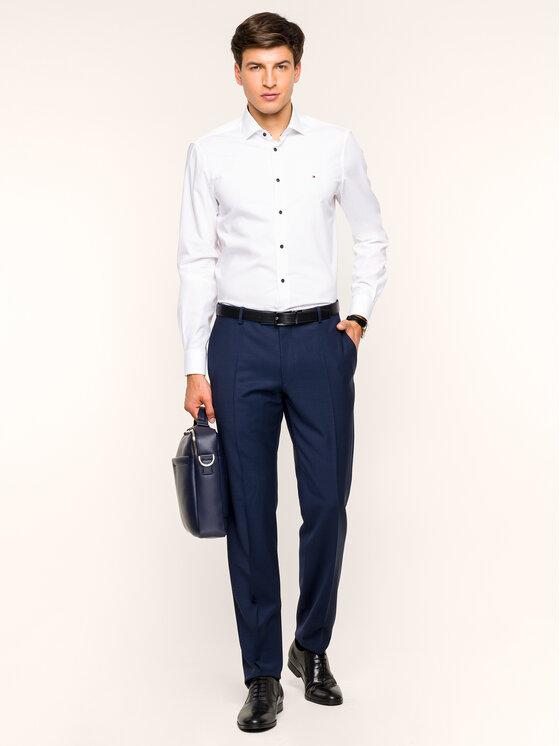 Tommy Hilfiger Tailored Tommy Hilfiger Tailored Koszula TT0TT05557 Biały Slim Fit