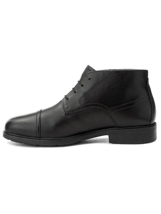 Geox Geox Обувки U Dublin A U64R2A 00043 C9999 Черен