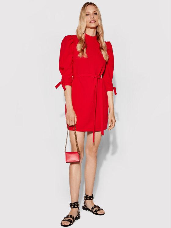 Rage Age Rage Age Sukienka codzienna Pansy 5 Czerwony Regular Fit