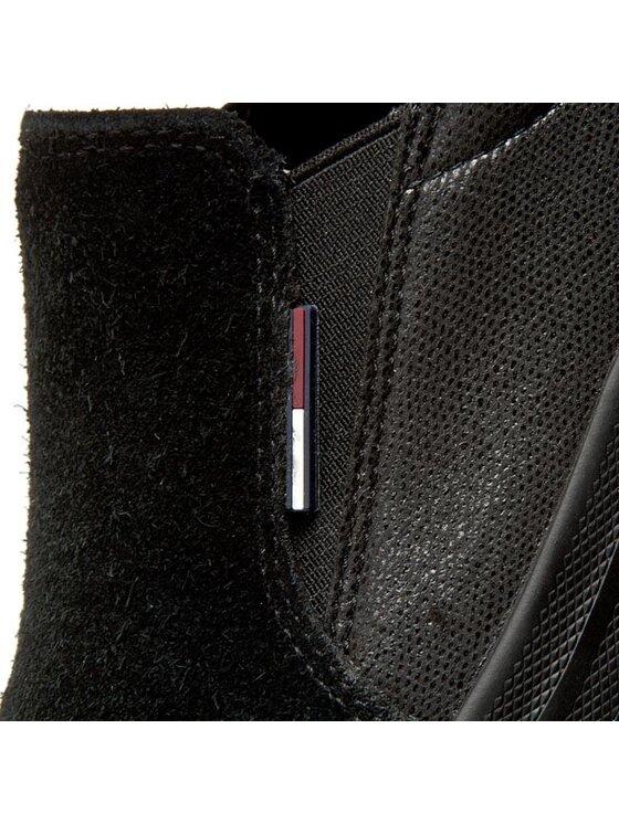 Tommy Hilfiger Tommy Hilfiger Πάνινα παπούτσια DENIM Nylon 9C1 EN56821880 Μαύρο