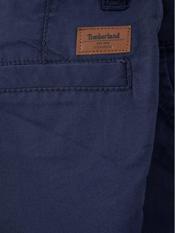 Timberland Timberland Szorty materiałowe T24A88 M Granatowy Regular Fit